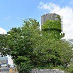 常磐線日立駅から徒歩すぐのところにある廃墟となった給水塔 #地域ブログ