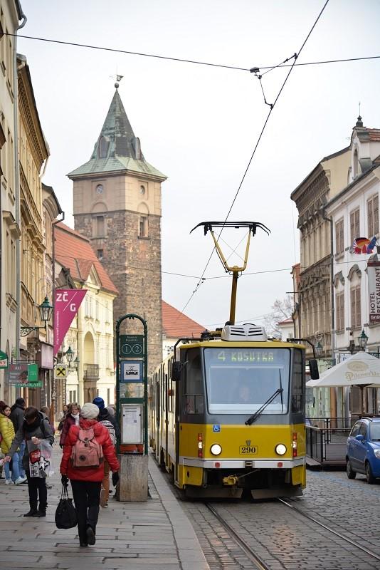 チェコのプルゼニにて