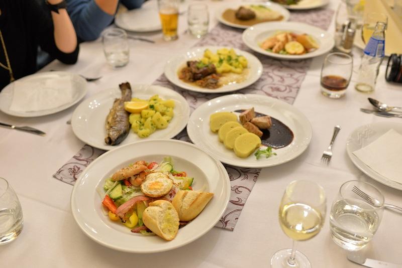 リトミシュルでの夕食