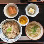 新橋駅前にある「郷土・せとうち料理かおりひめ」で愛媛と香川の美味しいものが食べられる!鯛めしとうどんのセットが美味でした! #地域ブログ