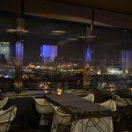 タワー・パーク・プラハ内の地上66mのところにあるRestaurant Oblacaでプラハの夜景を一望しながら食事をしよう #link_cz #visitCzech #チェコへ行こう #prague #プラハ