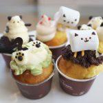 ねこまつりat湯島の期間中限定でサカノウエカフェで発売されているネコのカップケーキが無茶苦茶かわいい! #地域ブログ