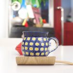 【カフェ】赤と白のシンプルな色合いの店内が心地いい!台東区谷中のcafe 笑壺でコーヒーブレイク #地域ブログ