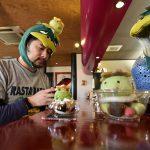 【カフェ】茨城県牛久市(かっぱの里)にあるサイトウコーヒーではカッパのパフェであるカッパフェが食べられる!15:00から18:00までのカッパタイム限定商品ですよ #地域ブログ