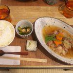 【カフェ】台東区谷中にある「Cafeと道具 kokonn」で国産牛すじのとろとろ煮込みのランチセットを食べてみた #地域ブログ