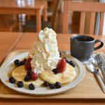 茨城県笠間市内にある雑貨&カフェ ラ・ミディでハワイアンパンケーキ!コーヒーはあのサザコーヒーですよ #地域ブログ
