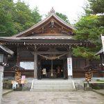 那須湯本温泉にある緑豊かな那須温泉神社を参拝する ちなみに読み方は「なすゆぜんじんじゃ」です #地域ブログ