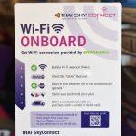 タイ国際航空の機内Wi-Fiに接続する方法を解説 10MB、20MB、30MB、100MBの4つのプランがありますよ #AmazingThailand #LoveThailand