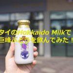 タイで日本的な牛乳製品を飲むことができるHokkaido Milkで巨峰ぶどうミルクを飲んでみた! #AmazingThailand #LoveThailand