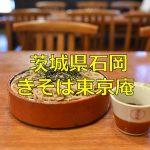 茨城県石岡に残る昭和7年築で登録文化財となっている「きそば東京庵」でお蕎麦を食べよう