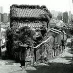 モノクロフィルムで富士見坂などの路地裏風景をNikon FM2で撮影してみた