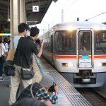 静岡駅で臨時急行トレインフェスタ号を撮影してみた
