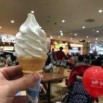 アリオ亀有のフードコート内にある成田ゆめ牧場のソフトクリームを食べてみた
