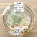 セブンイレブンの「1/2日分の野菜!ねぎ鍋(そばつゆ仕立て)」で楽ちんランチ