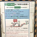 東京メトロ日比谷駅で日比谷線から千代田線にベビーカーで乗り換えるルート #育児