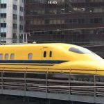 iPhone 7 Plus+DJI Osmo Mobile 2で東京交通会館からドクターイエローの動画を撮影してみた!