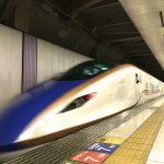 上越新幹線に導入されたE7系の特別編成を上野駅で撮影してみた