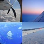 飛行機に乗る際は窓際の席に座って景色を眺めるのが好き
